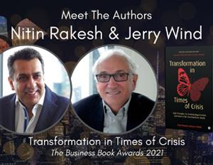 Business Book Awards UK Meet the authors Nitin Rakesh and Jerry Wind